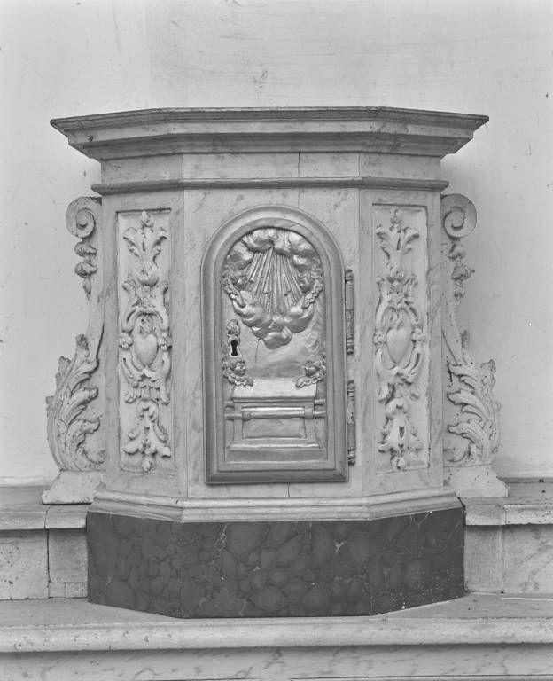 Autel et tabernacle (ancien maître-autel)