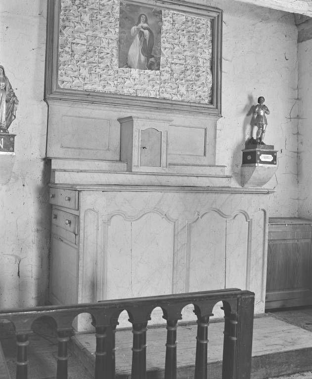 Autel et son tabernacle