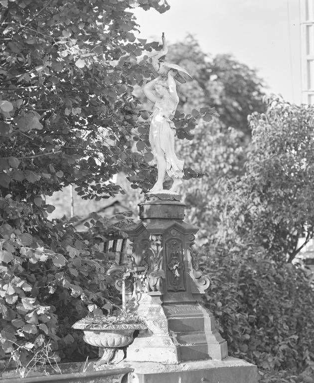 fontaine et abreuvoir
