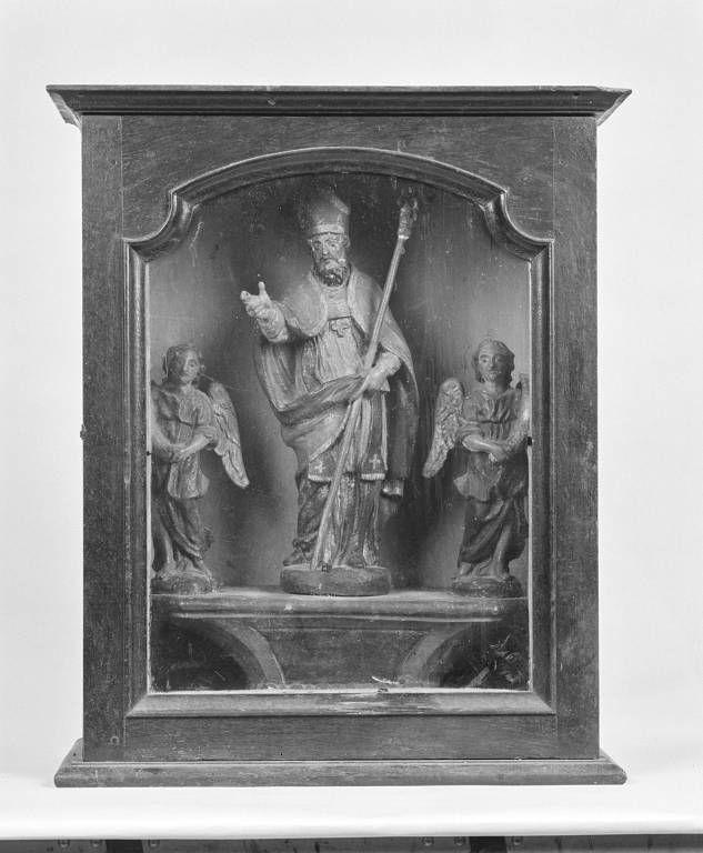 Bâton de procession : saint Martin, et sa vitrine