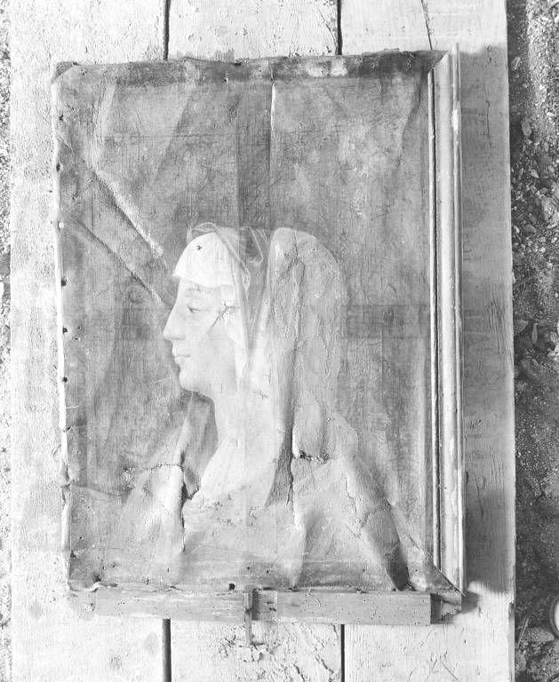 Tableau : Vierge en buste