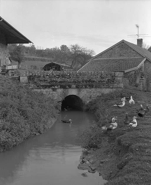 Pont sur la rigole de Blancey