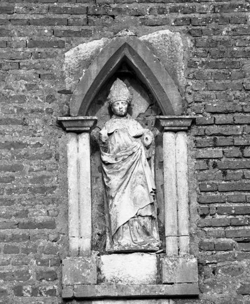 Statue (petite nature) : saint Léger (1)