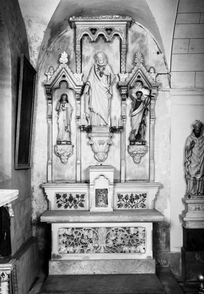 autel-retable du Sacré-Coeur