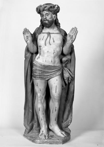 Statue (demi-nature) : Christ aux cinq plaies