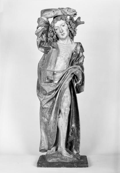 Statue (petite nature) : saint Sébastien