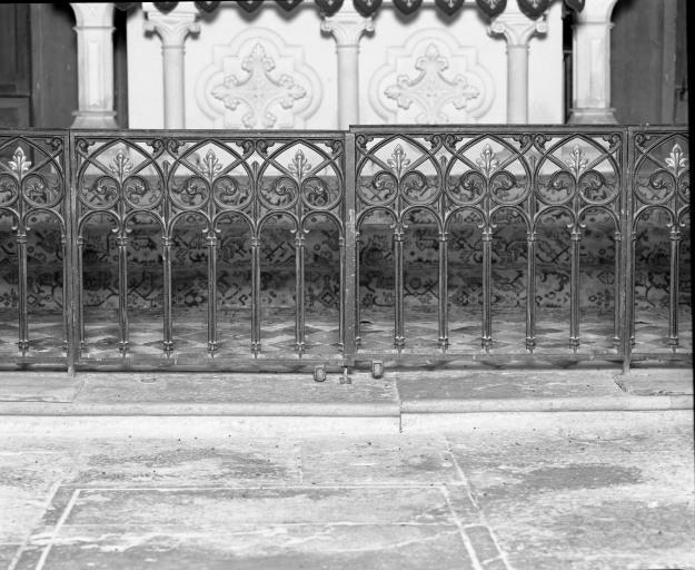 Clôture de sanctuaire (grille de communion)