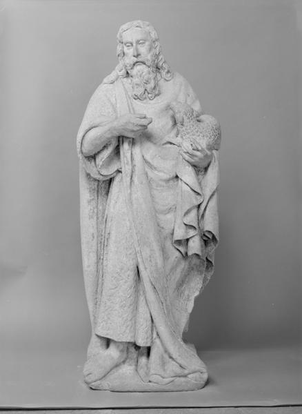 Statue (petite nature) : saint Jean-Baptiste, numéro d'inventaire : 87 GHD 277