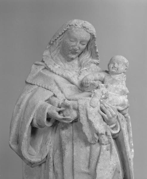 Statue (petite nature) : Vierge à l'Enfant (2), numéro d'inventaire : 87 GHD 276