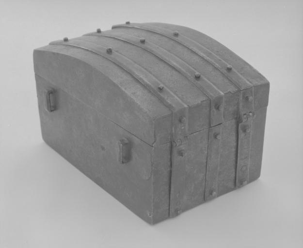 Coffret (coffret coffre-fort) (1), numéro d'inventaire : 87 GHD 0509