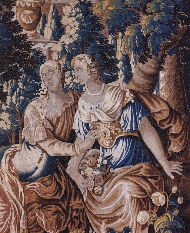 Tenture : histoire d'Achille (4 pièces murales, numéro d'inventaire : 87 GHD 1593, additif 48, 1262, 1261)
