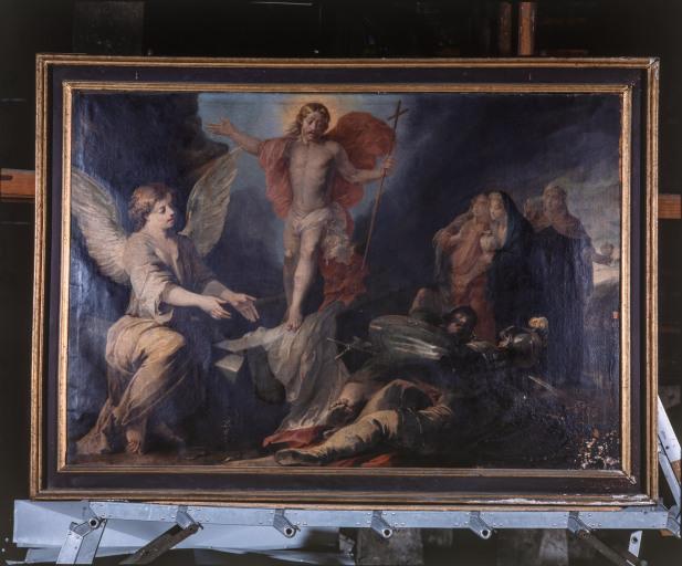 Tableau : la Résurrection (numéro d'inventaire : 87 GHD 1204 2)