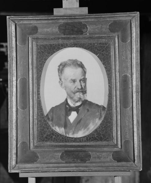 Tableau : portrait d'A. Montoy, numéro d'inventaire : 87 GHD 1193