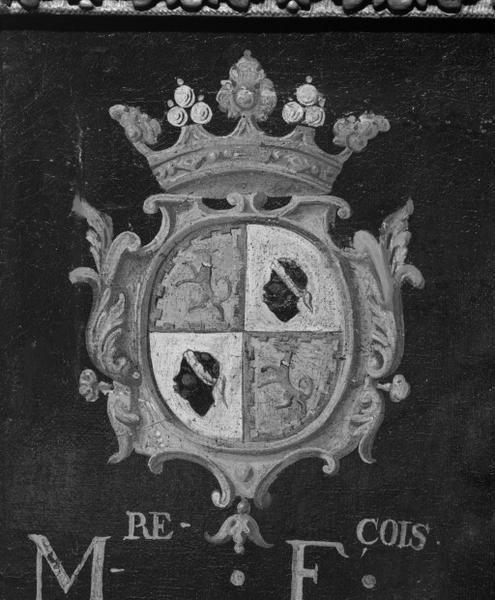 Tableau : portrait de François Brunet de Montforand, numéro d'inventaire : 87 GHD 0318
