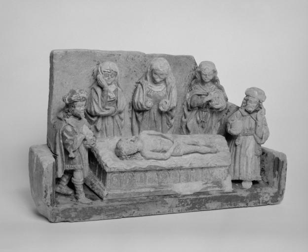 Haut-relief : Mise au tombeau, numéro d'inventaire : 87 GHD 855