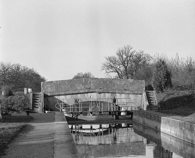 Site de l'écluse 38 et 39 du versant Seine, dite de Tannay (canal du Nivernais)