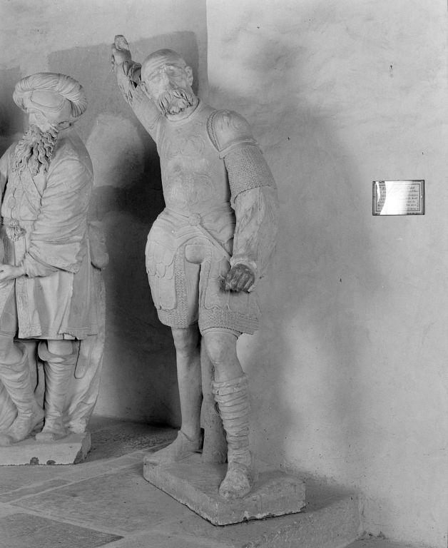 Groupe sculpté : Mise au tombeau.