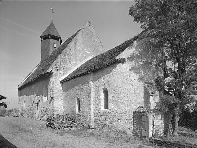 Église paroissiale Saint-Didier (paysages du canal du Nivernais)