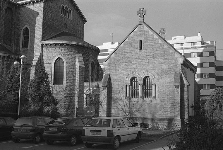 Eglise paroissiale Notre-Dame (paysages du canal du Centre)
