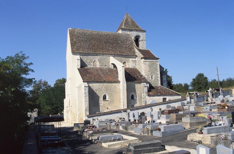 Église paroissiale Notre-Dame (paysages du canal du Nivernais)