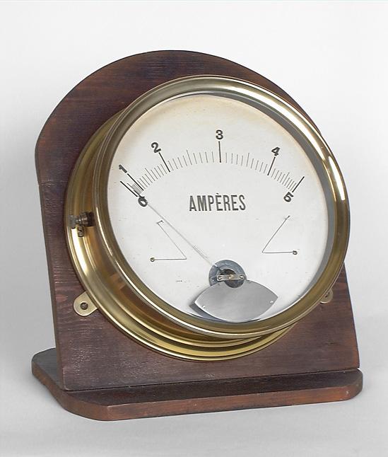 Instruments de mesure électromagnétique (2) : ampèremètre et voltmètre