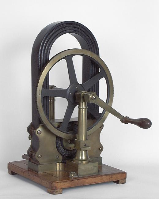 Instrument de démonstration en électrodynamique : machine de Gramme