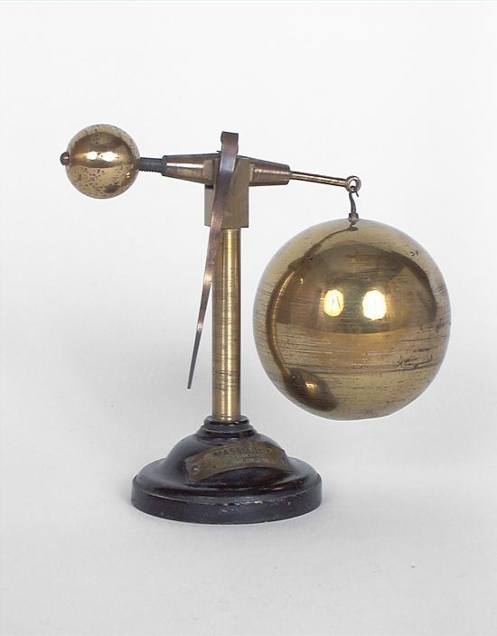 Instrument de démonstration en mécanique des fluides : baroscope