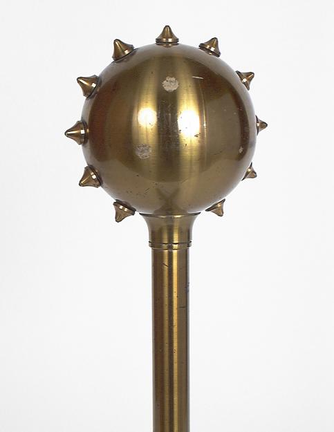 8 instruments de démonstration en électrostatique : trois conducteurs cylindriques isolés et cinq sphères conductrices isolées