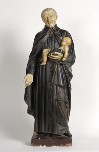 Statue : Saint Vincent de Paul