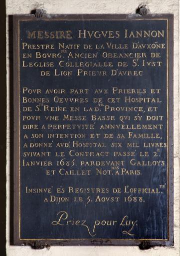 Plaque commémorative n° 3