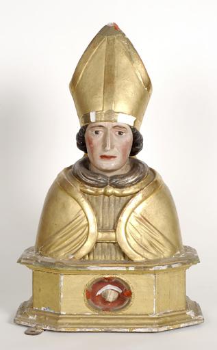 Buste-reliquaire de saint-Hilaire