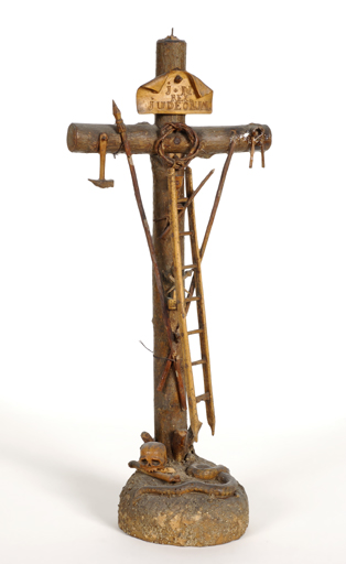 Croix portant les instruments de la Passion