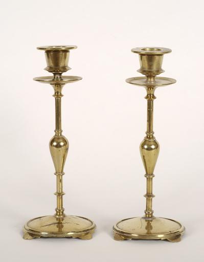 Paire de chandeliers flambeaux n° 3
