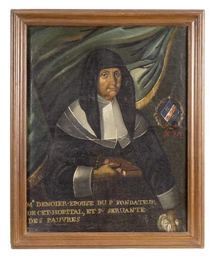 Tableau : portrait de Madame Desnoyers