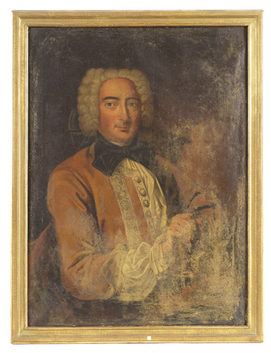 Tableau : portrait du marquis de la Roche-Posay
