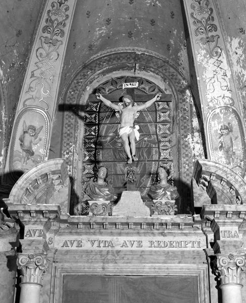 Bustes-reliquaires d'un saint et d'une sainte non identifiés