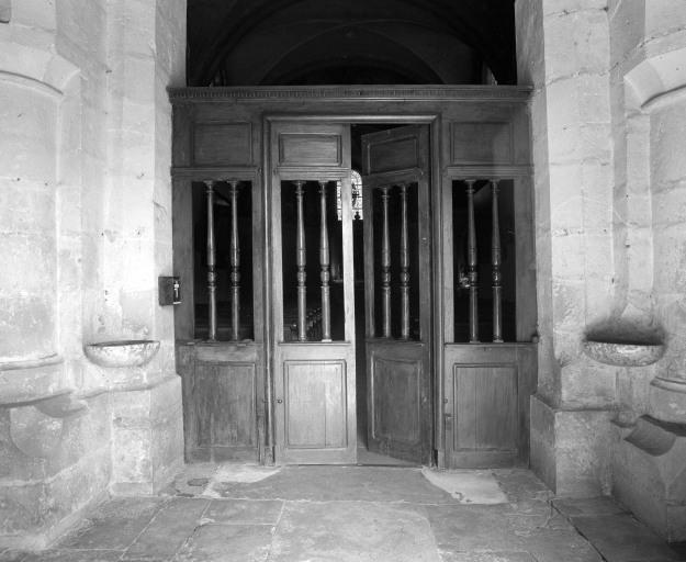 Clôture de la nef