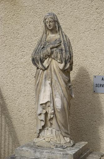 Statue : la Vierge Marie