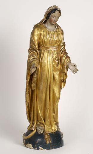 Statue : Vierge au serpent