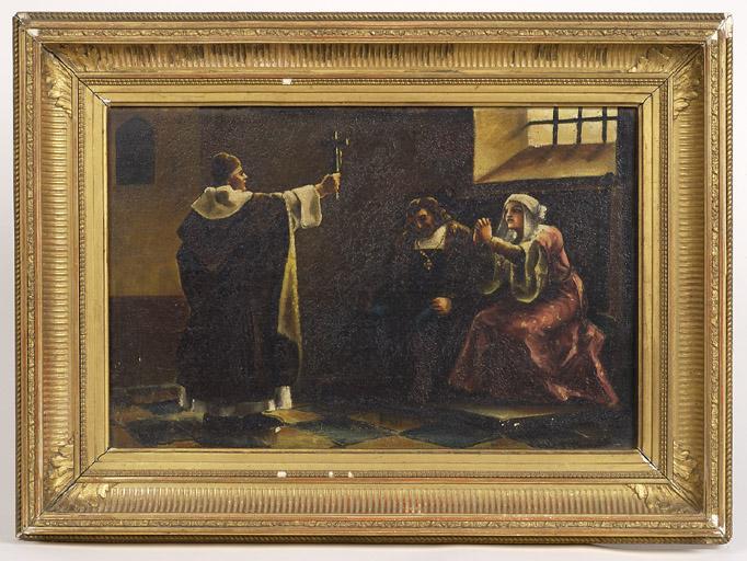 Tableau : Scène d'exorcisme