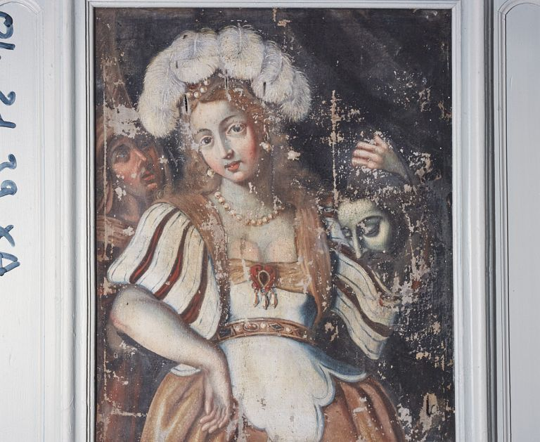 Tableau : Judith exhibant la tête d'Holopherne