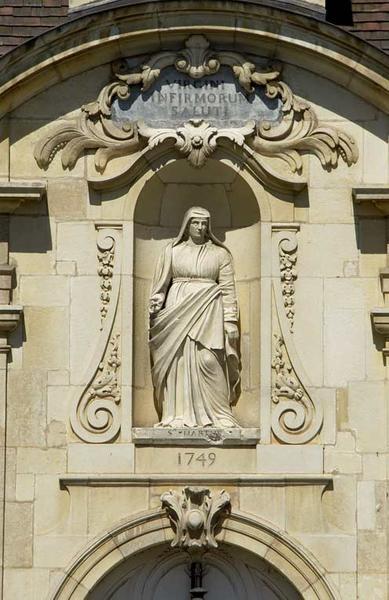 Hôtel dit du gouverneur, puis hôpital Saint-Jacques