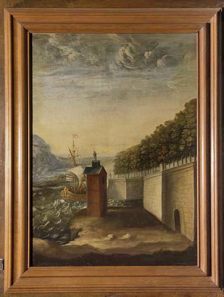Sept tableaux : Marines et Paysages au bord de l'eau