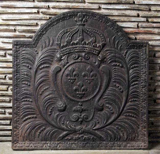 Plaque de cheminée