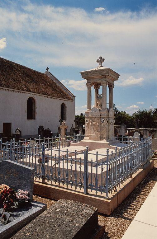 Monument funéraire de la famille Chaussier
