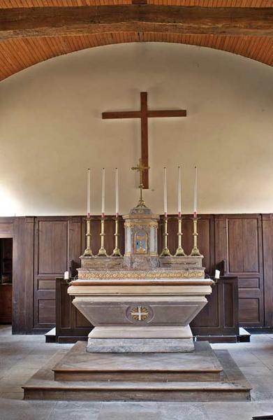 Maître-autel et son tabernacle