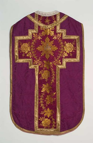 Chasuble (ornement violet)