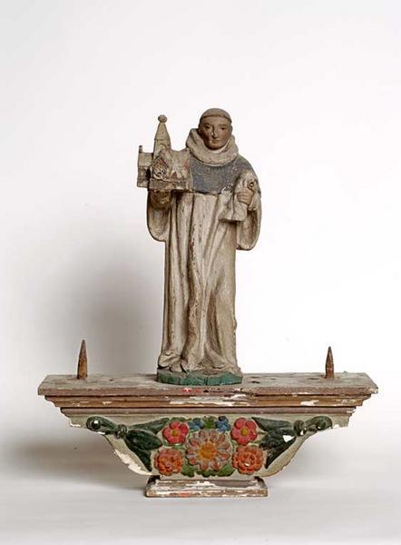 Bâton de procession : saint Bernard