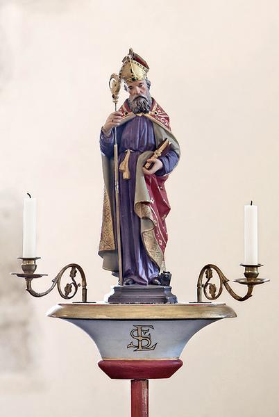 bâton de procession : saint Eloi