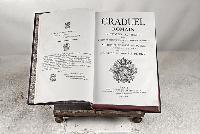livre : graduel romain